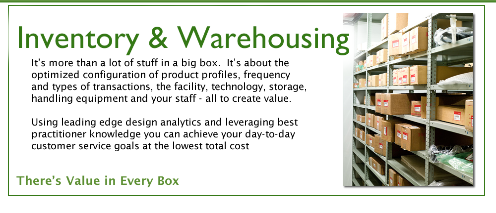 Inventory & Warehousing