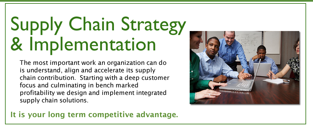 Integrated Strategies - Supply Chain Strategy & Implementation